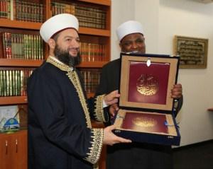 Commemorative gift from Al-Azhar Ash-Sharif