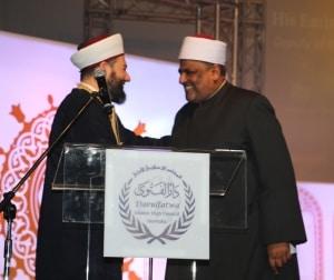 Dr. Sheikh Salim and Prof Dr. Abbas