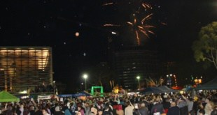 the crowd at ICPA Eid festival