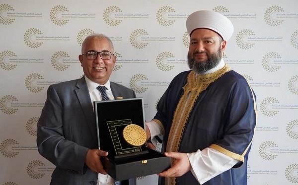 الملتقى العالمي الأول لشباب المجتمعات المسلمة بتنظيم المجلس العالمي للمجتمعات المسلمة في أبو ظبي 7- 12- 2019