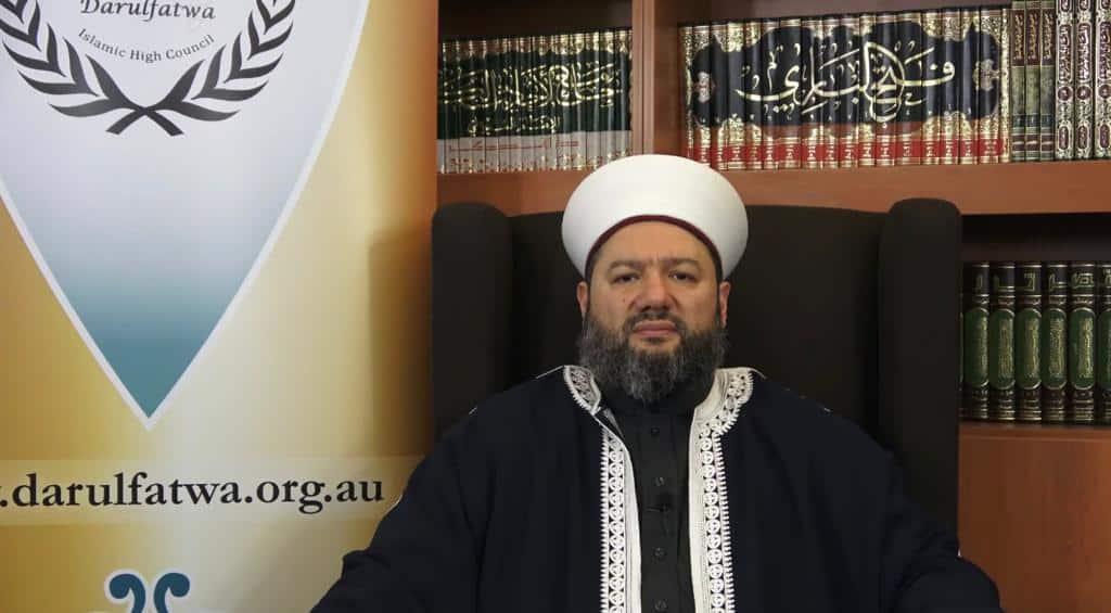سماحة الأمين العام لدار الفتوى في أستراليا يهنئ المسلمين بعيد الأضحى المبارك 1441- 2020
