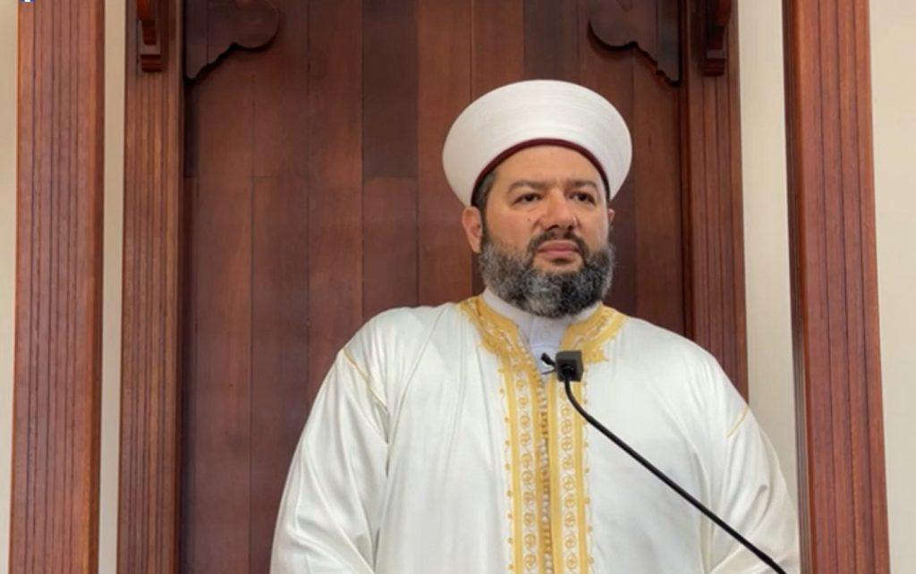 أمين عام دار الفتوى الشيخ الدكتور سليم علوان في في خطبة عيد الفطر 1442هـ - 2021
