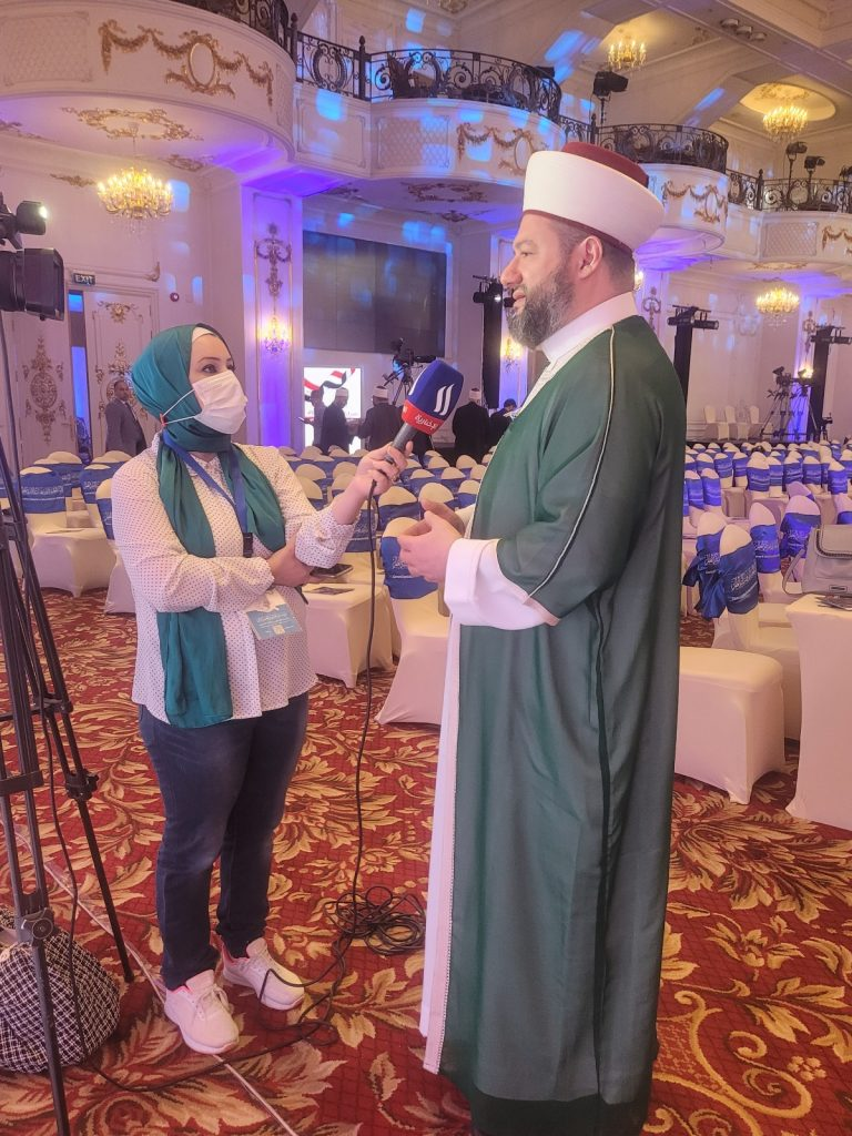 """Dar-ul-Ifta Conference entitled, """"Fatwa Authorities in the Digital Age- the Challenges of Innovation and the Tools of Collaboration""""."""